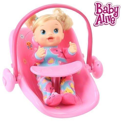 ベビーアライブ 赤ちゃん おままごと ベビー人形 Baby Alive Doll Car Seatベビーアライブ 赤ちゃん おままごと ベビー人形