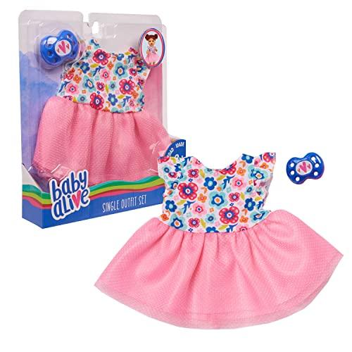 ベビーアライブ 赤ちゃん おままごと ベビー人形 Baby Alive Single Outfit Set - Floral Dress, Multicolorベビーアライブ 赤ちゃん おままごと ベビー人形