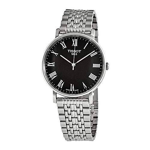T109.410.11.053.00腕時計 メンズ Stainless Steel メンズ Dial Everytime Black 腕時計 【送料無料】Tissot ティソ ティソ Watch