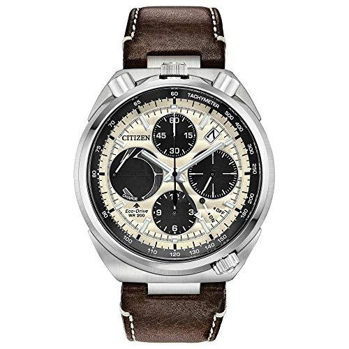 シチズン 逆輸入 海外モデル 海外限定 アメリカ直輸入 Men's Citizen Promaster Tsuno Chronograph Racer Leather Watch AV0079-01Aシチズン 逆輸入 海外モデル 海外限定 アメリカ直輸入