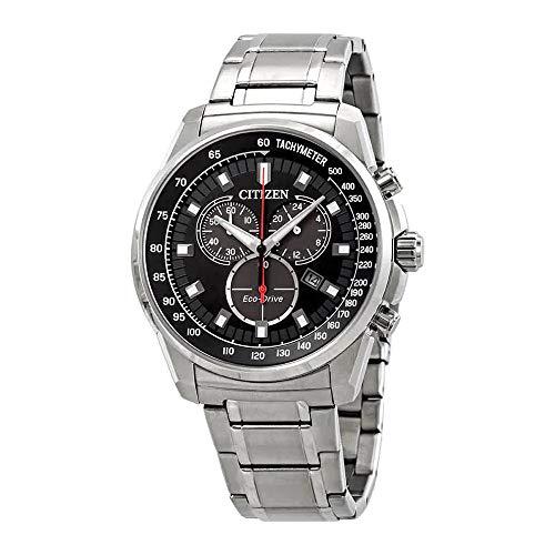 腕時計 シチズン 逆輸入 海外モデル 海外限定 【送料無料】Citizen Brycen Chronograph Black Dial Men's Watch AT2370-55E腕時計 シチズン 逆輸入 海外モデル 海外限定