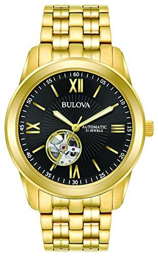 ブローバ 腕時計 メンズ Bulova Men's 97A132 Automatic Gold-Tone Bracelet 42mm Watchブローバ 腕時計 メンズ
