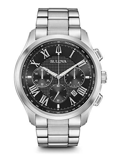 ブローバ 腕時計 メンズ BULOVA Black Stainless Steel Watch-96B288ブローバ 腕時計 メンズ
