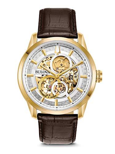 ブローバ 腕時計 メンズ 【送料無料】BULOVA Multicolour Leather Watch-97A138ブローバ 腕時計 メンズ