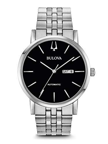 腕時計 ブローバ メンズ 【送料無料】BULOVA Black Stainless Steel Watch-96C132腕時計 ブローバ メンズ