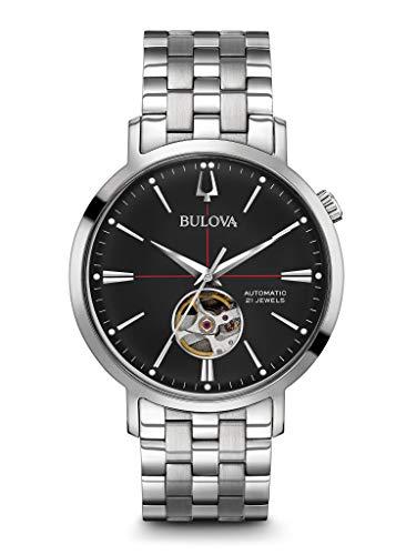 ブローバ 腕時計 メンズ 【送料無料】BULOVA Silver Stainless Steel Watch-96A199ブローバ 腕時計 メンズ