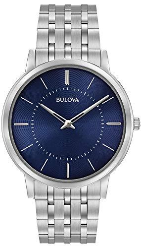 腕時計 ブローバ メンズ 【送料無料】Bulova 96A188 Mens Ultra Slim Silver Steel Bracelet Watch腕時計 ブローバ メンズ