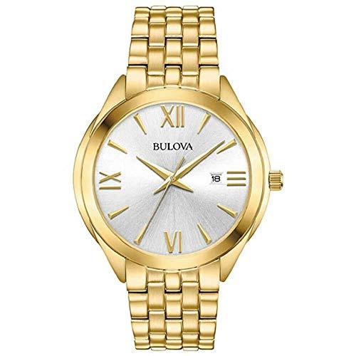 ブローバ 腕時計 メンズ Bulova Classic Gold Tone Stainless Steel Mens Watch 97B180ブローバ 腕時計 メンズ