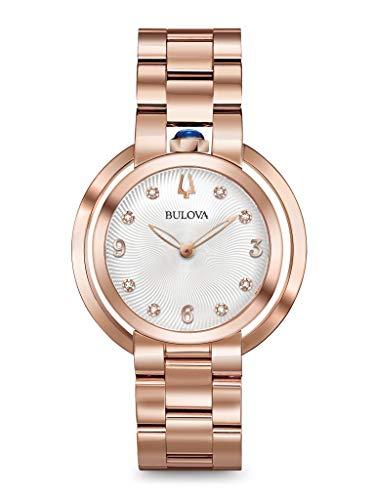 ブローバ 腕時計 レディース 【送料無料】BULOVA Rose Gold Stainless Steel Watch-97P130ブローバ 腕時計 レディース
