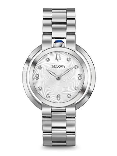 ブローバ 腕時計 レディース 【送料無料】BULOVA Silver Stainless Steel Watch-96P184ブローバ 腕時計 レディース
