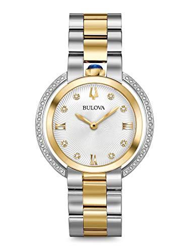 腕時計 ブローバ レディース 【送料無料】BULOVA Silver Stainless Steel Watch-98R246腕時計 ブローバ レディース