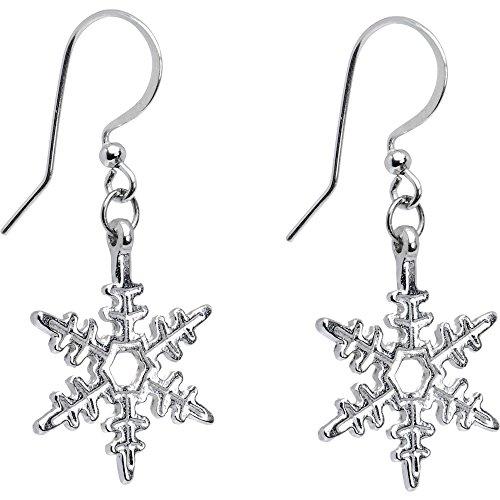 ボディキャンディー ピアス アメリカ 日本未発売 ブランド Body Candy Holiday Winter Snowflake Earringsボディキャンディー ピアス アメリカ 日本未発売 ブランド