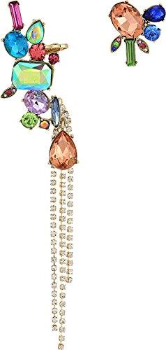 ベッツィ・ジョンソン ピアス アメリカ 日本未発売 ブランド Betsey Johnson Women's Bright Color Stone Non-Matching Earrings Multi One Sizeベッツィ・ジョンソン ピアス アメリカ 日本未発売 ブランド