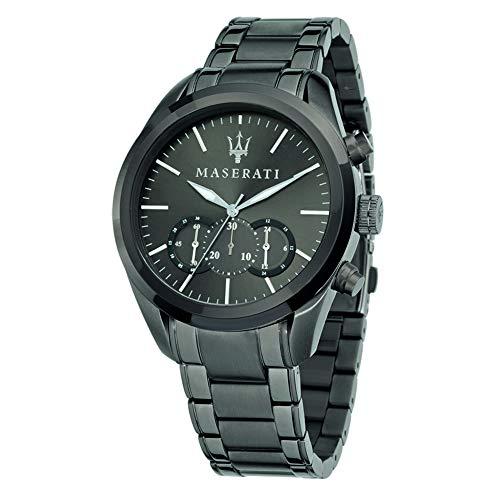 マセラティ イタリア 腕時計 メンズ 【送料無料】Maserati Men's R8873612002 Analog Display Quartz Grey Watchマセラティ イタリア 腕時計 メンズ