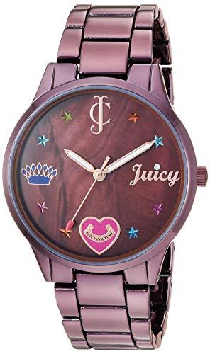 ジューシークチュール レディース 【送料無料】Juicy Couture Black Label Women's Swarovski Crystal Accented Brown Bracelet Watchジューシークチュール レディース