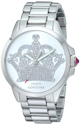 ジューシークチュール レディース Juicy Couture Women's 1901215 Jetsetter Analog Display Quartz Silver Watchジューシークチュール レディース