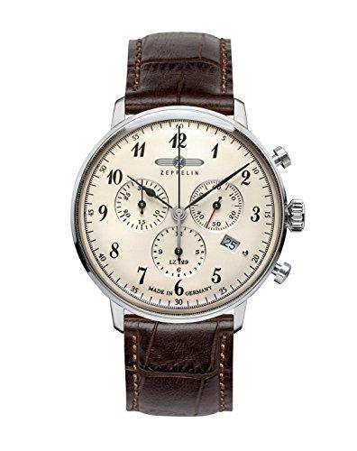 ツェッペリン 腕時計 メンズ ゼッペリン ドイツ 【送料無料】Zeppelin 7086-4 LZ129 Hindenburgツェッペリン 腕時計 メンズ ゼッペリン ドイツ