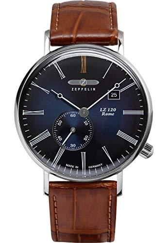 ツェッペリン 腕時計 メンズ ゼッペリン ドイツ 【送料無料】Zeppelin LZ120 Rome Men's Watch Blue Dial 7134-3ツェッペリン 腕時計 メンズ ゼッペリン ドイツ