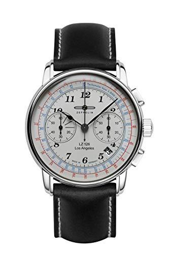 ツェッペリン 腕時計 メンズ ゼッペリン ドイツ Zeppelin 7614-1 LZ126 Los Angeles Beige Dial Mens Leather Watchツェッペリン 腕時計 メンズ ゼッペリン ドイツ