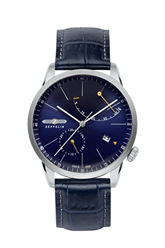 腕時計 ツェッペリン メンズ ゼッペリン ドイツ 【送料無料】Zeppelin 7366-3 - Flatline Power Reserve腕時計 ツェッペリン メンズ ゼッペリン ドイツ