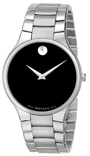 モバード 腕時計 メンズ Movado Men's 0606382 Serio Stainless Steel Bracelet Watchモバード 腕時計 メンズ