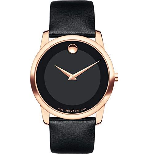 モバード 腕時計 メンズ Movado Men's Classic Museum - 0607078 Rose Gold One Sizeモバード 腕時計 メンズ
