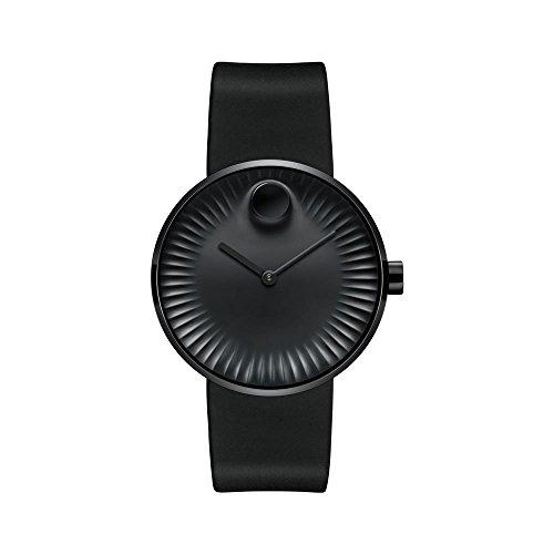 モバード 腕時計 メンズ 【送料無料】Movado Edge Black Aluminum Dial Swiss Quartz Men's Watch 3680005モバード 腕時計 メンズ