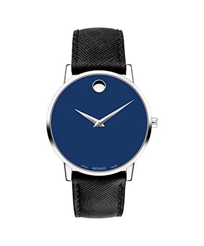 モバード 腕時計 メンズ 【送料無料】Movado Museum Classic Blue Dial Men's Watch 0607197モバード 腕時計 メンズ