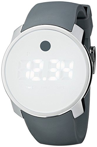 モバード 腕時計 メンズ 【送料無料】Movado Men's 3600253 Bold Digital Display Swiss Quartz White Watchモバード 腕時計 メンズ