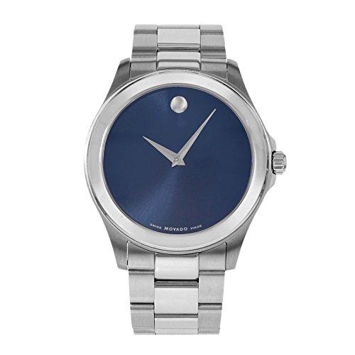 モバード 腕時計 メンズ 【送料無料】Movado Junior Sport Blue Dial Stainless Steel Mens Watch 0606116モバード 腕時計 メンズ