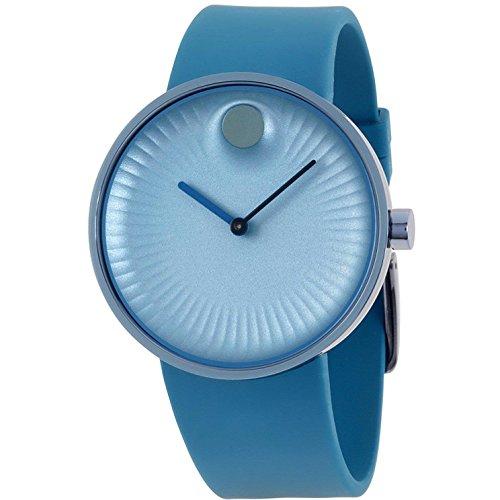モバード 腕時計 メンズ 【送料無料】Movado Edge Men's 40 mm Blue Silicone strap watch 3680042モバード 腕時計 メンズ