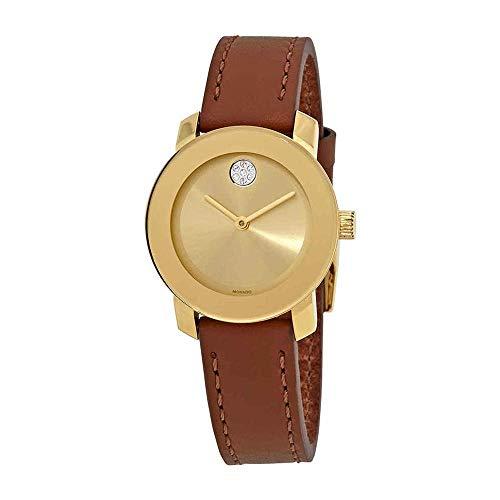 モバード 腕時計 レディース 【送料無料】Movado Women's Bold - 3600437 Yellow Gold Ion-Plated One Sizeモバード 腕時計 レディース