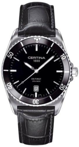 腕時計 サーチナ メンズ スイス 【送料無料】Certina Men's Watch Analogue XL Leather C014,410,16,051,00 Quartz腕時計 サーチナ メンズ スイス