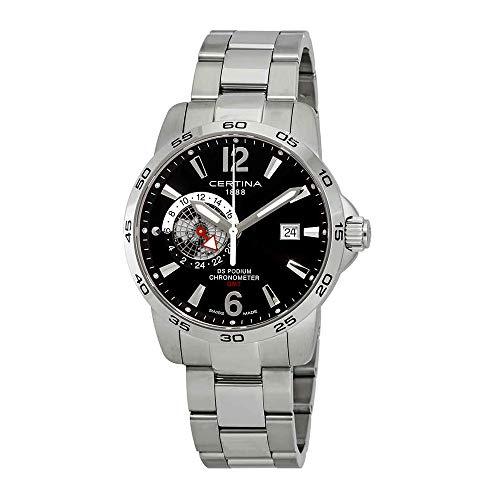 サーチナ 腕時計 メンズ スイス 【送料無料】Certina DS Podium GMT サーチナ 腕時計 メンズ スイス