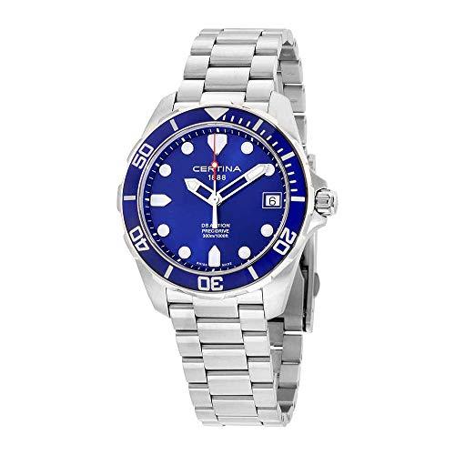 サーチナ 腕時計 メンズ スイス Certina DS Action - 3 Hands Stainless Steel Mens Quartz Watch C0324101104100 サーチナ 腕時計 メンズ スイス