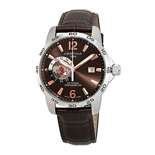 サーチナ 腕時計 メンズ スイス Certina DS Podium Brown Dial Mens Watch C034.455.16.087.01 サーチナ 腕時計 メンズ スイス