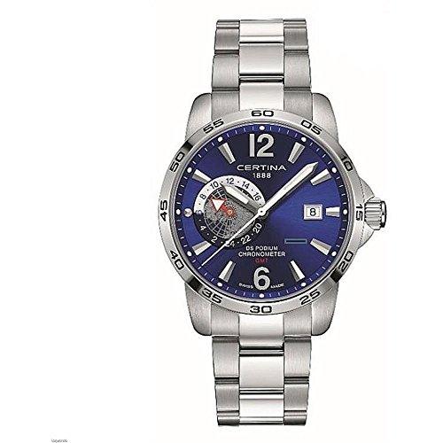サーチナ 腕時計 メンズ スイス 【送料無料】Certina DS Podium Blue Dial Mens Watch C034.455.11.047.00 サーチナ 腕時計 メンズ スイス