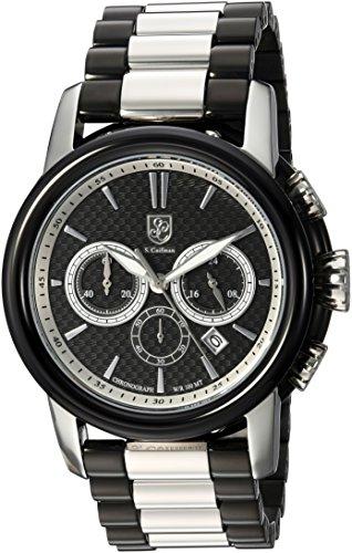 S.Coifman(コイフマン) 腕時計 メンズ S. Coifman Men's Origins Quartz Watch with Stainless-Steel Strap, Two Tone, 24 (Model: SC0419S.Coifman(コイフマン) 腕時計 メンズ