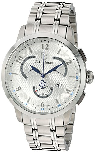 S.Coifman(コイフマン) 腕時計 メンズ 【送料無料】S. Coifman 'Men's Bracelet' Swiss Quartz Stainless Steel Watch, Color:Silver-Toned (Model: SC0235)S.Coifman(コイフマン) 腕時計 メンズ