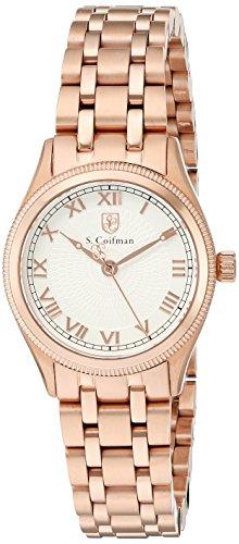 S.Coifman(コイフマン) 腕時計 レディース S. Coifman Women's 'Lady Bracelet' Swiss Quartz Stainless Steel Watch, Color:Rose Gold-Toned (Model: SC0341)S.Coifman(コイフマン) 腕時計 レディース