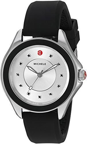 ミッシェル 腕時計 レディース ミシェル 【送料無料】MICHELE Women's MWW27A000012 Cape Analog Display Analog Quartz Black Watchミッシェル 腕時計 レディース ミシェル
