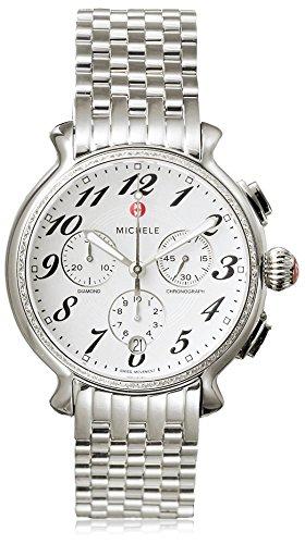 ミッシェル 腕時計 レディース ミシェル 【送料無料】Michele Women's MWW24A000001 Fluette White Stainless Steel Watchミッシェル 腕時計 レディース ミシェル