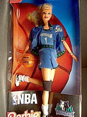 バービー バービー人形 日本未発売 NBA Barbie Minnesota Timberwolves Blondeバービー バービー人形 日本未発売