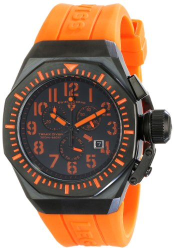スイスレジェンド 腕時計 メンズ Swiss Legend Men's 10540-BB-01-OA Commander Analog Display Swiss Quartz Black Watchスイスレジェンド 腕時計 メンズ