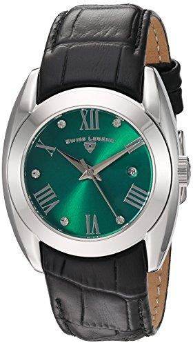 スイスレジェンド 腕時計 レディース 【送料無料】Swiss Legend Women's 'Liberty' Quartz Stainless Steel and Leather Watch, Color:Black (Model: 10550-08)スイスレジェンド 腕時計 レディース