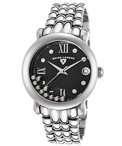 スイスレジェンド 腕時計 レディース Swiss Legend Women's 22388-11 Diamanti Analog Display Swiss Quartz Silver Watchスイスレジェンド 腕時計 レディース
