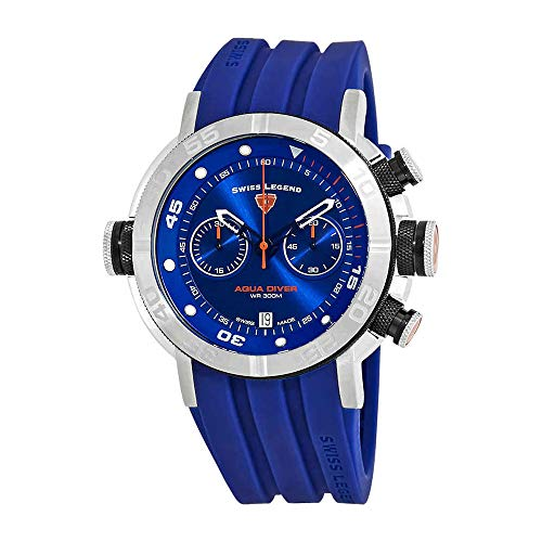 スイスレジェンド 腕時計 メンズ Swiss Legend Aqua Diver Chronograph Watch SL-10622SM-03-BB-BLSスイスレジェンド 腕時計 メンズ