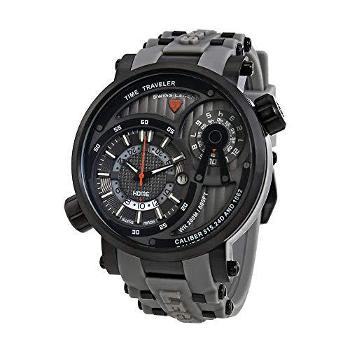 スイスレジェンド 腕時計 メンズ Swiss Legend Time Traveler Mens Watch SL-13841SM-BB-014-GRYSスイスレジェンド 腕時計 メンズ