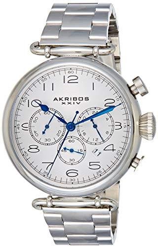 アクリボスXXIV 腕時計 メンズ Akribos XXIV Men's AK764SS Grandiose Stainless Steel Bracelet WatchアクリボスXXIV 腕時計 メンズ