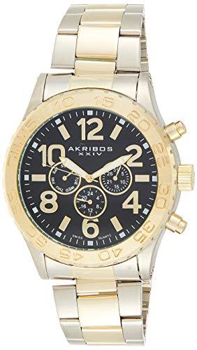腕時計 アクリボスXXIV メンズ 【送料無料】Akribos XXIV Men's Multifunction Watch - Swiss Quartz Movement 3 Subdials Watch - On Stainless Steel Bracelet - AK763腕時計 アクリボスXXIV メンズ